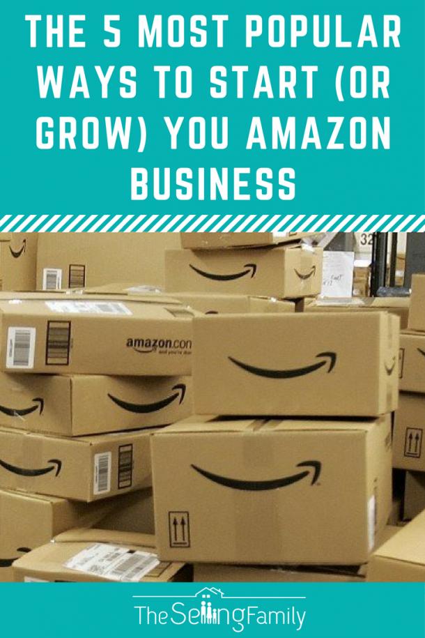 5种最流行的方式开始(或增长)亚马逊业务