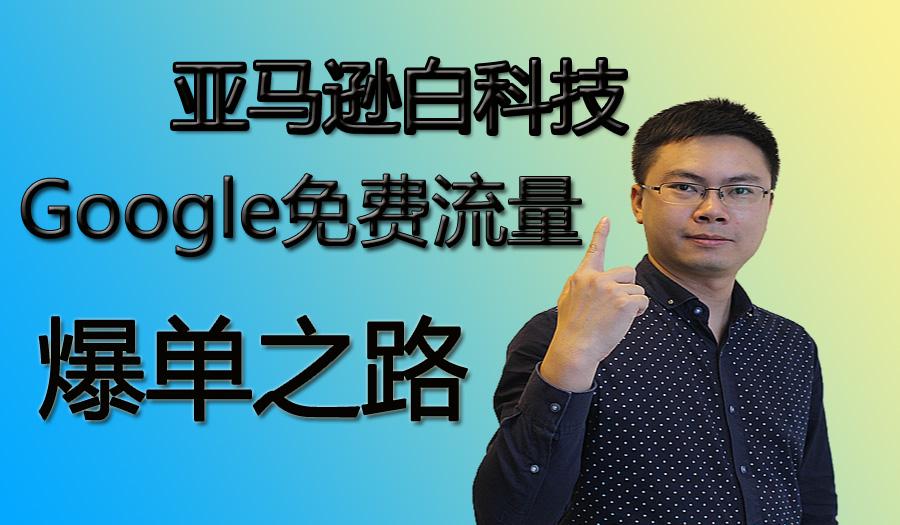 亚马逊白科技Google免费流量爆单之路