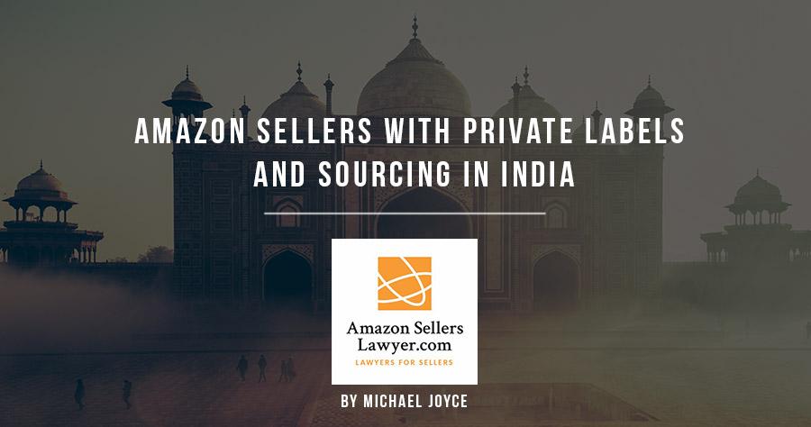 亚马逊卖家使用私人标签和在印度采购